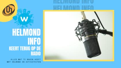 Helmond Info terug op de radio