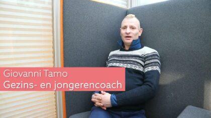 Giovanni Tamo helpt veel mensen als Gezins- en jongerencoach