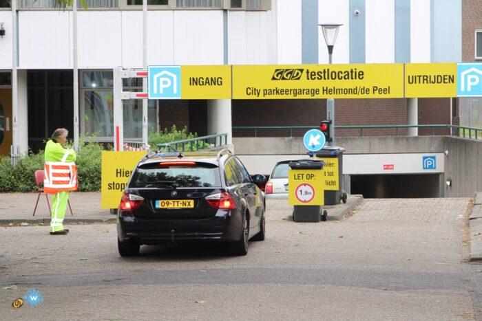 Coronatestlocatie Helmond weer geopend