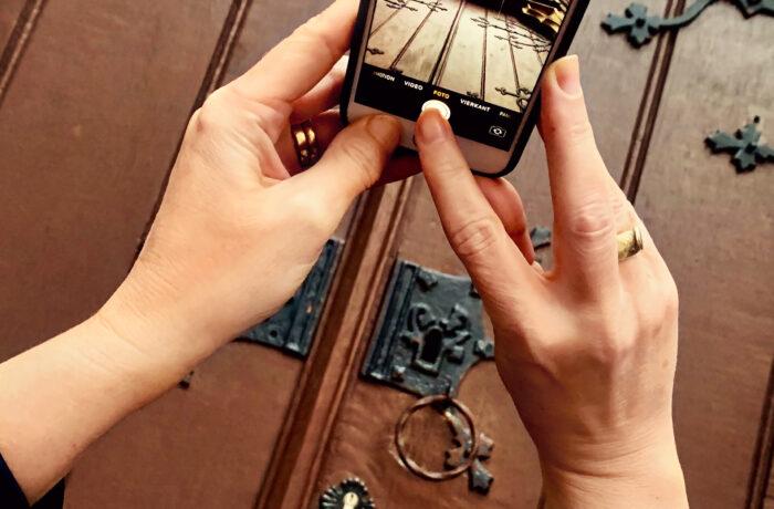 Smartphone & Borrelarrangement
