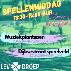 Spellenmiddag @ Voetbalveld Dijksestraat | Helmond | Noord-Brabant | Nederland