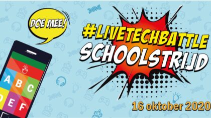 Live Tech Battle voor groep 7/8