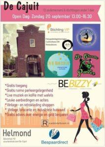 Open Dag - Kennismaking Met De Ondernemers En Stichtingen @ De Cajuit | Helmond | Noord-Brabant | Nederland