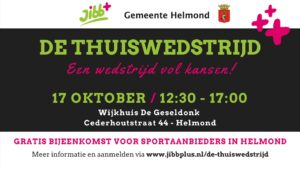 De Thuiswedstrijd @ wijkhuis De Geseldonk