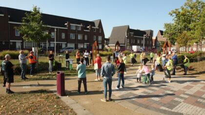 Weverspark startplek wijkschoonmaakactie