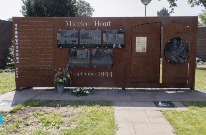 Herdenking van de bevrijding in Mierlo-Hout