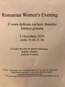 Romanian Women's Evening @ Westwijzer | Helmond | Noord-Brabant | Nederland