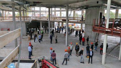 Hoogste punt nieuwbouw Knippenbergcollege bereikt