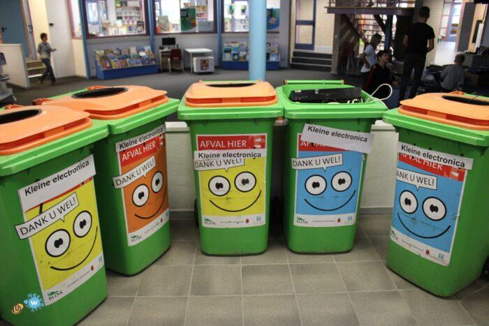 E-Waste Race ook op Helmondse school