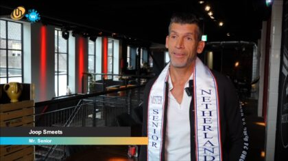 Joop Smeets Mr. Senior van Nederland
