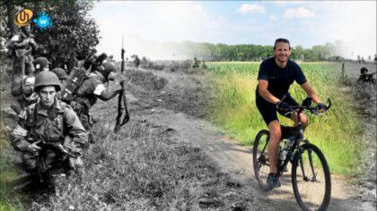 Perry Vermeulen reed fietstocht Death Valley De Peel