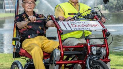 Dementie raakt iedereen: Stichting Duofietsen