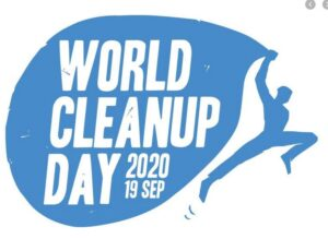 Clean Up Wandeling in Helmond on World Clean Up Day