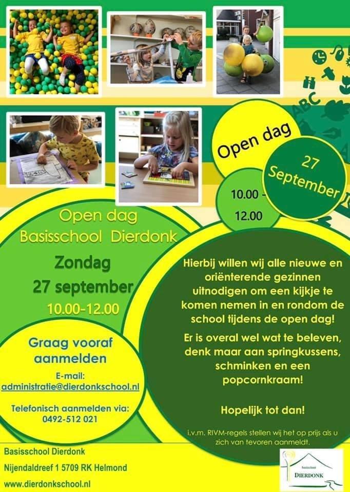 Open Dag Kindcentrum Dierdonk