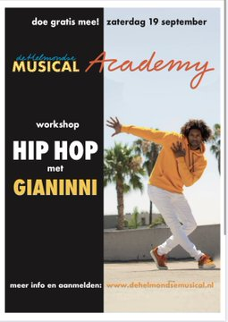 DHM Academy workshop HipHop met Gianinni