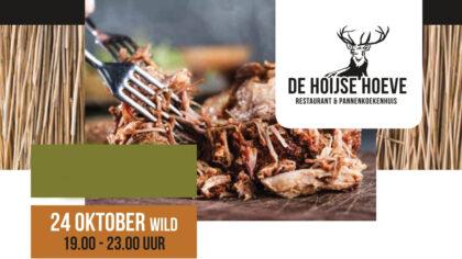 Wildmaand oktober Meat & greetExperience