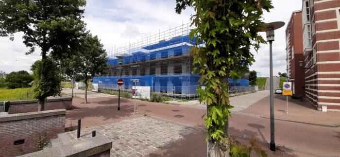 Hoogste punt bereikt Spinnerswal en Weversdok