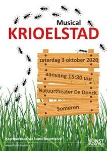 Musicalvoorstelling Kwiebus/Krioelstad van Kunstkwartier Helmond @ Kunstkwartier Helmond tijdelijk bij Natuurtheater De Donck | Someren | Noord-Brabant | Nederland