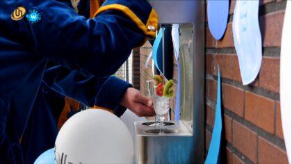 Ingebruikname watertappunt Antoon van Dijkschool