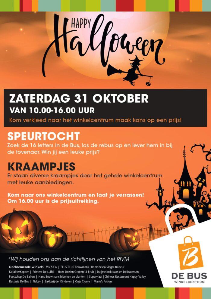 Happy Halloween W.C De Bus
