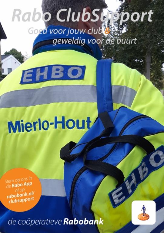 Rabo-stem voor reanimatiepoppen EHBO Mierlo-Hout