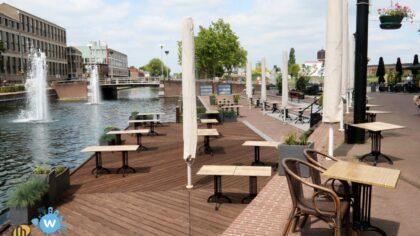Taxistandplaats Havenweg laad-en losplaats voor horeca