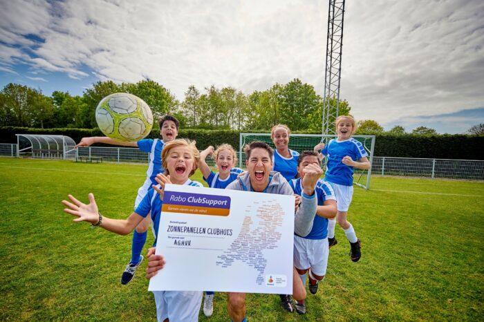 Leden van Rabobank steunen het club- en verenigingsleven in Nederland