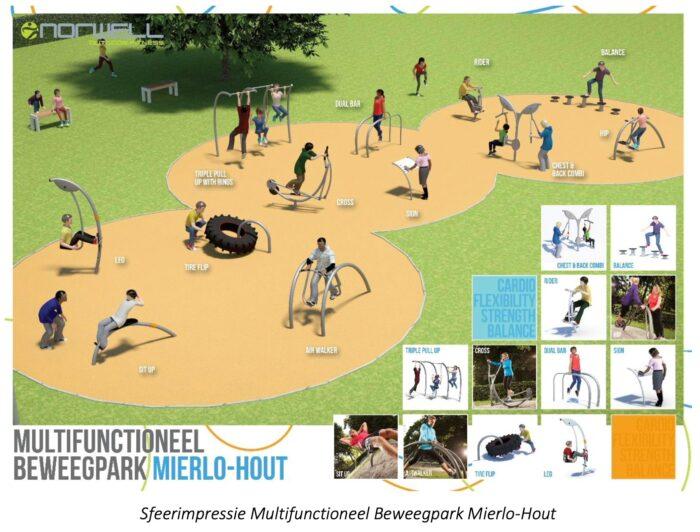 Multifunctioneel beweegpark bij De Geseldonk