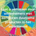 2 coronaproof activiteiten tijdens de Nationale FairTrade week