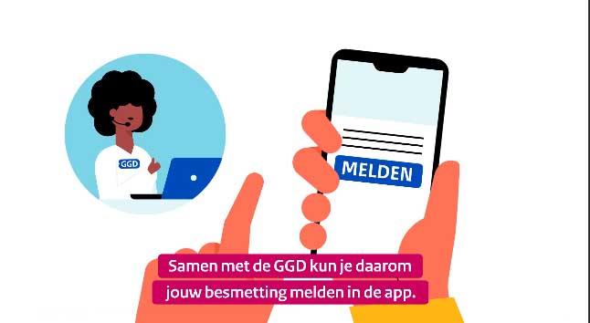 De CoronaMelder-app is nu in heel Nederland te gebruiken