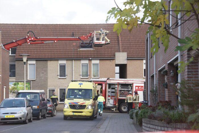Woningbrand in Beelsstraat
