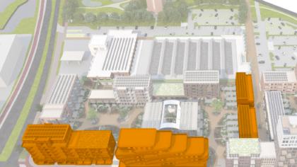 Start verkoop van 58 woningen in plan Oranjekade
