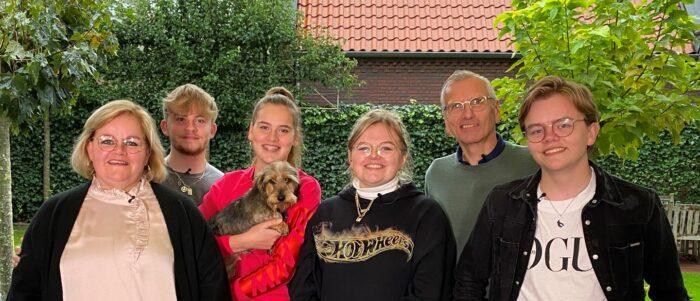 Familie Weijnen uitgelaten over deelname aan 'Camp to go!'