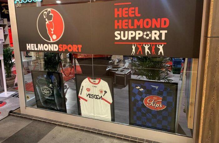 Pop-up store Helmond Sport in centrum