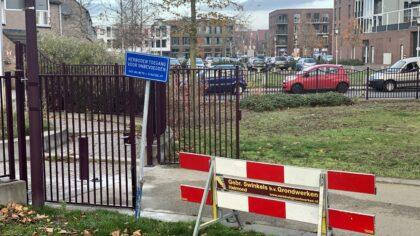 Afsluitbare poorten geplaatst rond Weverspark