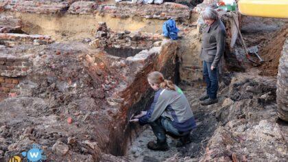Archeologisch grondonderzoek Kerkstraat Zuid gaat gestaag verder