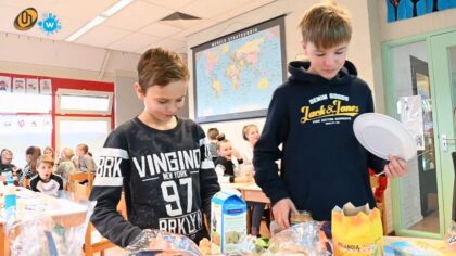 Nationaal Schoolontbijt in Kindcentrum de Lindt