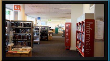 Bibliotheek gesloten vanwege corona