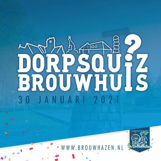 Alternatief voor carnaval: Dorpsquiz Brouwhuis