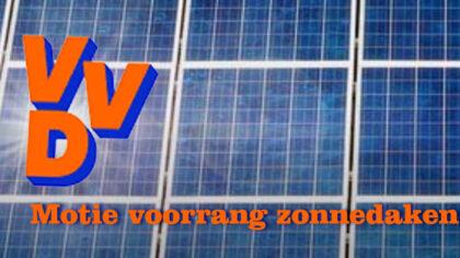 VVD: 'Voorrang geven aan zonnedaken'