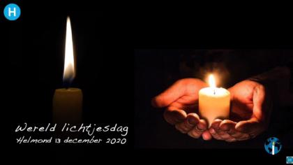 Overleden kinderen herdacht op Wereldlichtjesdag