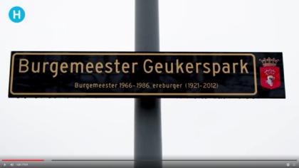 Met wethouder De Vries terug in Burgemeester Geukerspark
