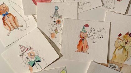 Tekeningen- en kaartenactie door Isabelle van Esch