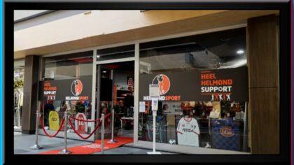 De pop-up store van Helmond Sport