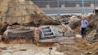 Archeologische opgravingen bij de  Zuid Koninginnenwal en de  Kerkstraat Zuid zijn klaar