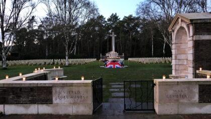 Lichtjesherdenking voor onze gesneuvelde bevrijders