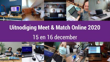 Meet & Match voor (maatschappelijke) organisaties