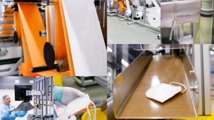 VDL Helmond maakt gecertificeerde medische mondmaskers