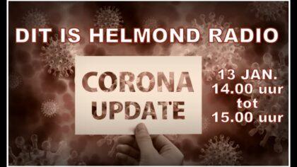 Corona update op DitisHelmond Radio