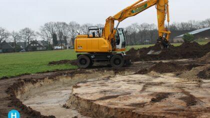 Landschapspark Kloostereind in Brouwhuis nadert voltooiing